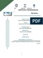 Trabajo de Investigación Redes de Distribución Eléctrica