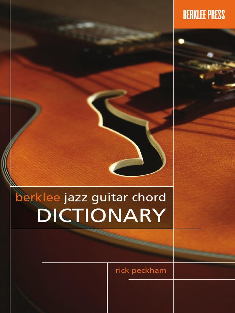 Berklee jazz guitar chord dictionary chord music string berklee jazz guitar chord dictionary chord music string instruments hexwebz Gallery
