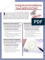 40 accommodations for adhd that work