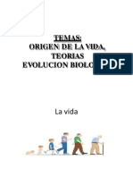 Biologia-clase 01-Origen de La Vida