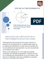 Ecuación de La Circunferencia Guia