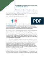 La Ideología de Género Hace Daños a Los Niños_El Colegio Americano de Pediatras