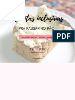 eBook de Receitas Inclusivas Pra Passar No Pão - Escola de Cozinha Inclusiva 2017