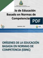 Fundamentación Modelo EBNC 2016 (Con Anotaciones)