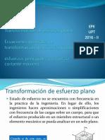 (9) TRANSFORMACIÓN DE ESFUERZO, ECUACIONES DE TRANSFORMACIÓN Y ESFUERZOS PRINCIPALES.pptx