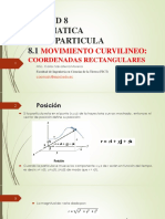 Movimiento Curvilineo-coordenadas Rectangulares