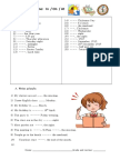 Prepositions of Time on in At