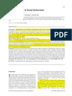 Epidemiologia de Las Disfunciones Sexuales