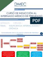 08. Cirugia I- Insuficiencia arterial crónica y aguda