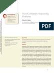 Next-Generation Sequencing Platforms