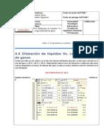 4.6 Dilatación de líquidos Vs. compresibilidad de gases