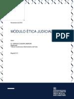 Modulo Etica Judicial (1)