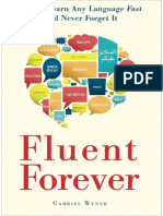 Fluent Forever How to Learn Any Language Fast and Never Forget It(Sample)