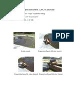 Dokumentasi Wilayah Sampling Amonium Dan Deterjen