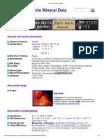 Alacranite Mineral Data1