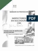 Manual Para Inspectores en Soldadura-CWI -820 Pag.