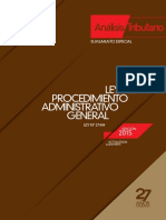 TUO Ley Procedimiento Administrativo General - AELE - agosto 2015.pdf