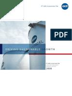 AKRA Annual Report 2008