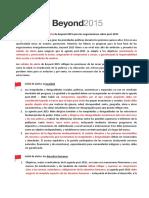SP Señales de Alerta de Beyond 2015