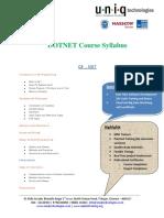 DOTNET Course Details