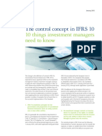 The concept of IRRS 10