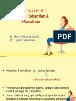 Komunikasi_Efektif  Dr. Memi, Sp.og