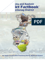 Jammu and Kashmir District Factbook- Anantanag District