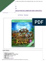 Extraña Magia (2015) Web-dl 1080p Hd Mkv Español Latino _ Pelismegahd _ 1080p - 720p - 3d Sbs - Dvdrip - Mkv