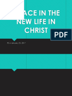 Grace in the New Life in Christ