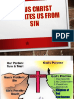Jesus Christ Liberates Us From Sin