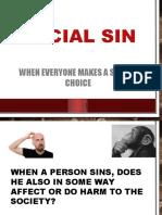 Social Sin