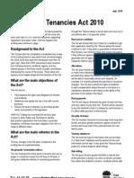 Residential Tenancies Act 2010