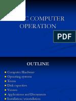 Computer Basics Basic Comp Oper
