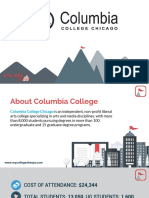 Study Abroad at Columbia College, Chicago, Admission Requirements, Courses, Fees