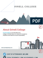 Study Abroad at Grinnell College, Admission Requirements, Courses, Fees