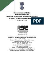 DIPs Report of Bhavngr 2014-15