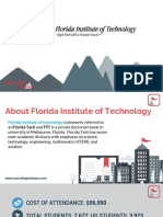 Study Abroad at Florida Institute of Technology, Admission Requirements, Courses, Fees