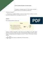Ejercicio Sobre El Cálculo Del Número de Observaciones 2