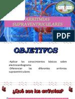 ARRITMIAS SUPRAVENTRICULARES