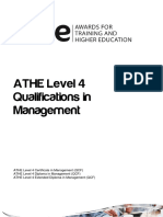 ATHE - Level 4 Management Specification