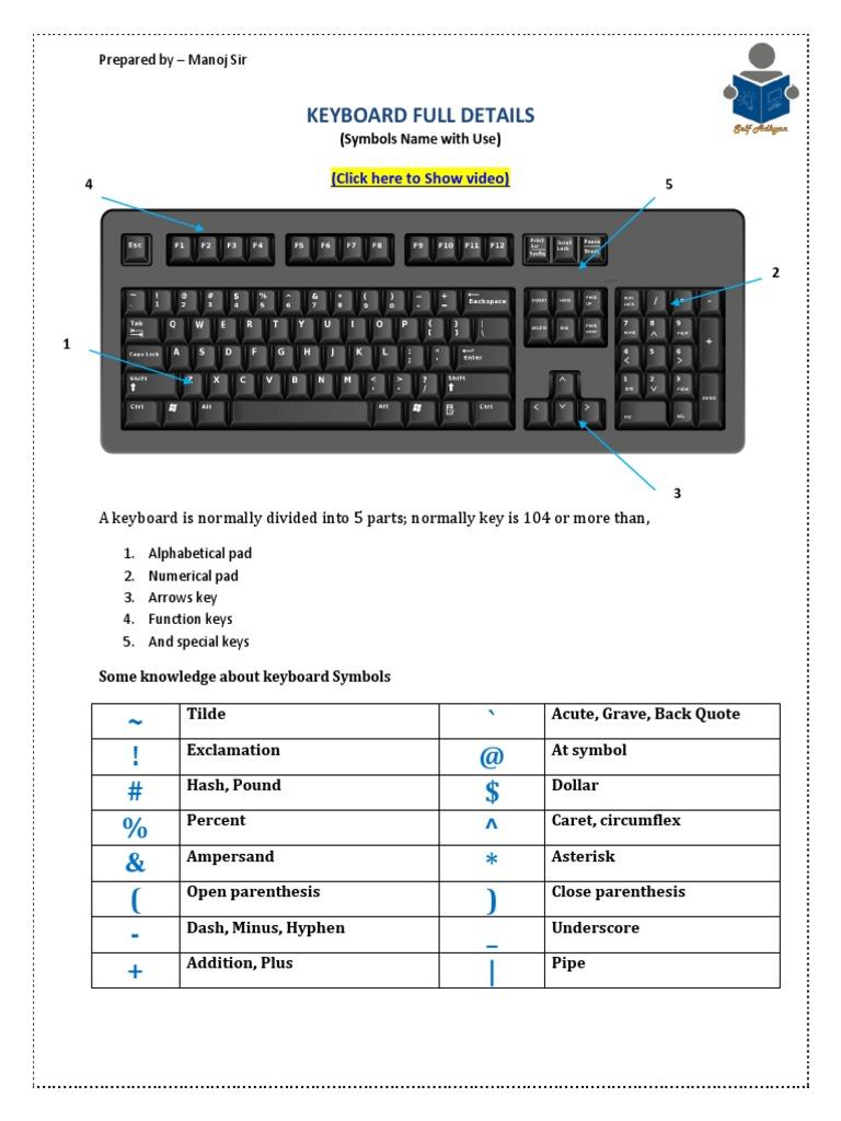 Keyboard | Computer Keyboard | Bracket