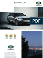 Range Rover Velar Brochure 1L5601820000BXXEN01P Tcm281 386487