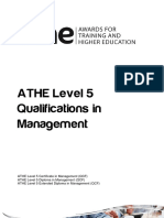 ATHE - Level 5 Management Specification