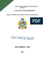 Plan anual de Tutoría 2017.pdf