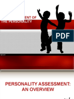 Group 3 Report Personality Assessment FINAL Pptx