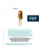Shockley Diode and Types of Diode