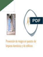 14_Prevención de Riesgos en Puestos de Limpieza Doméstica y de Edificios