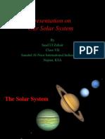 Solar System by Saad