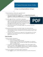 06 2014 Full Proposal Writing Workshop Handout 2014