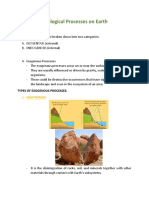 Geological Processes on Earth